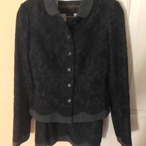 Louis Vuitton women's jacket and skirt (petite)